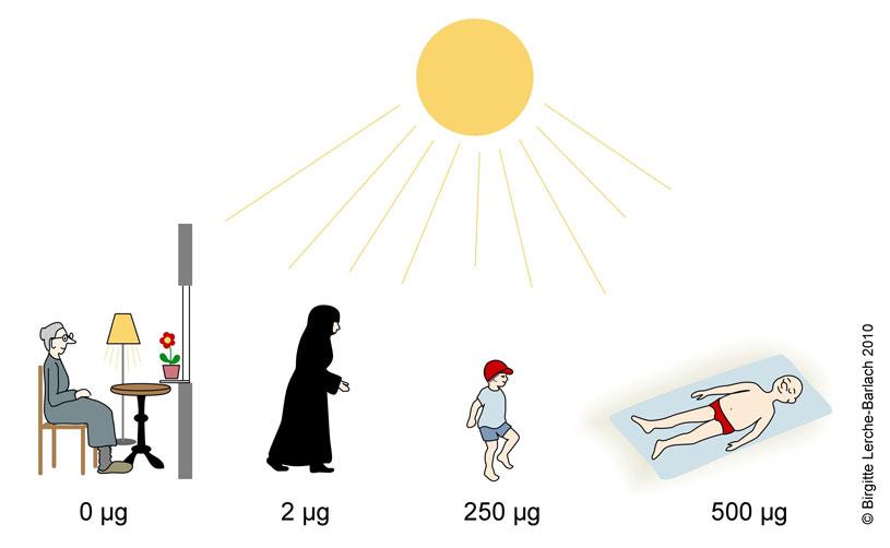 Vitamin-D, sol og solarium - Patienthåndbogen på sundhed.dk